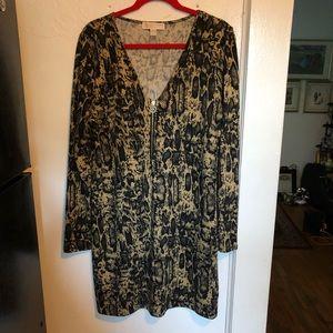 Michael Kors Size Large Long Sleeves Dress